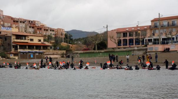 Trophée de chasse sous-marine  Ivara 2010 - mise à l'eau
